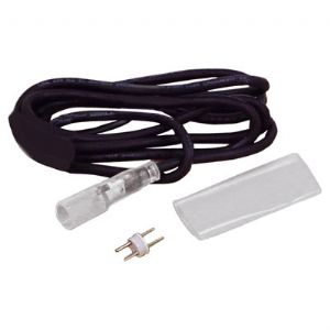 Black Duralight Low Voltage Power Cord Kit